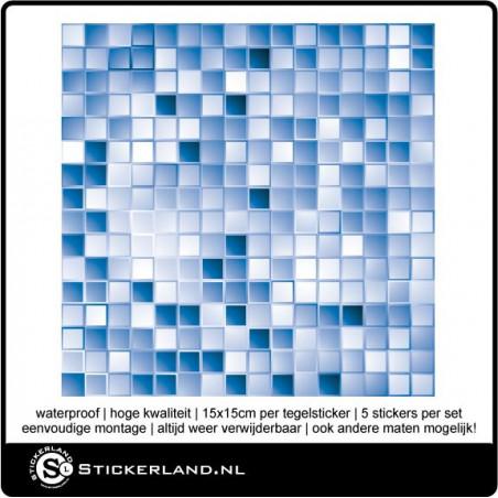 Design Tegelstickers [Per 5 Stuks] -Uniek-