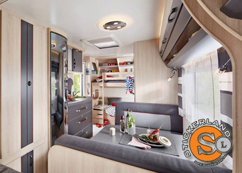 Wrap het interieur van je camper of caravan | Stickerland
