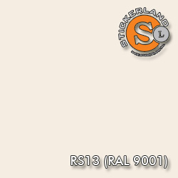 RS13 (RAL 9001)